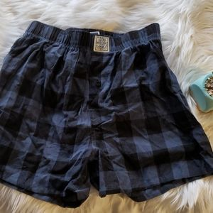 Lucky Blue Plaid Boxers